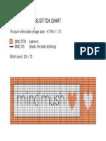 Mind Mush Cross Stitch Chart