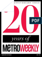 Metro Weekly - 05-01-14 - The 20th Anniversary