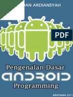 Pengenalan Dasar Android Programming