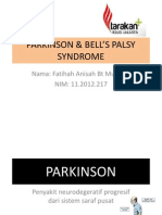 Parkinson & Bell Palsy Syndrome