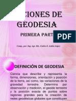 Nociones de Geodesia1