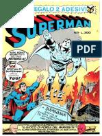 Superman N.1 Edizione Cenisio