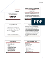 On Line NFPA 20 Update-2013
