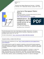 Hay_Globalization, European Integration