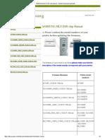 SAMSUNG MLT-D101 Chip Manual - Newest Samsung Downloads