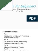 Python tutorial - Introduction to Python