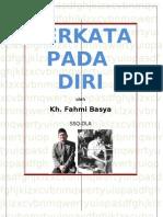 BERKATA+PADA+DIRI++9-10