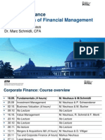 CF I Fundaentals of Financial Management Winter Term 2009