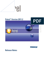 Petrel 2011.2 Release Notes