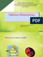Hábitos Alimenticios para niños