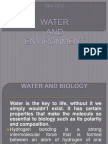 Water and Environment