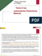 Instrumentos financieros 2010