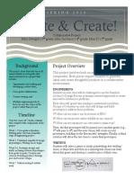 Project Description - Ideate & Create