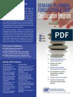 IBF Certification Program