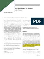 wastewater irrigation on antibiotic.pdf