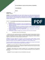 Reglamento de Seguridad y Salud Ocupacional en Mineria