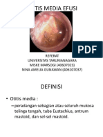 Otitis Media Efusi