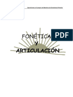 Fonetica y Articulacion