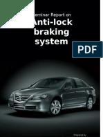 Anti Lock Brakes Report