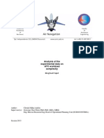 Analysis of experimental data on ATC workload complexity