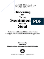 Discerning the True Sentiments of Soul