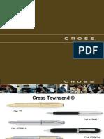 Cross Boligrafos.asoc.Coop.6sigma.productos y Servicios