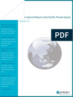 Preqin Special Report Asia Pacific Private Equity
