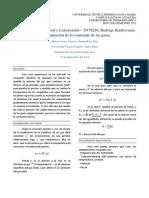 Informe 1 Termodinámica General y Laboratorio