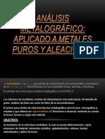 Análisis Metalográfico DIAPO