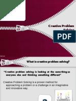 Creative Problem Solving