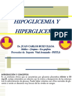 Hipoglicemia Hiperglicemia Samu
