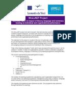 WoLLNET - Business Benefits of LLN Training