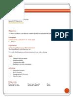 gunn resume