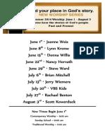 Summer of Stories Flyer