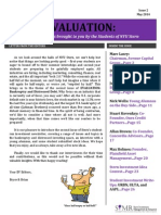 Evaluation May 2014