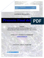 Plataforma Informatica Educativa