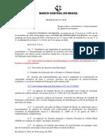 Agências de Fomento - Resolução n° 2828