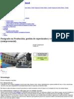 Postgrado en Producción, Gestión de Espectáculos y Eventos Culturales (Semipresencial) _ Universitat de Barcelona Metodologia