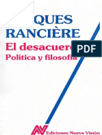 Jacques Rancière-El Desacuerdo_ Política y Filosofía-Nueva Visión (1996)