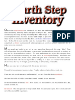 4thStep Inventory Process