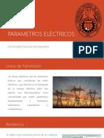 PARAMETROS ELÉCTRICOS