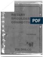 Rotary Shouldered Connections HandBook