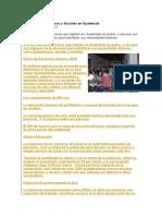 Problemas Económicos y Sociales en Guatemala