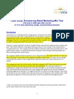Retail Marketing Mix Case Study(LucidView)