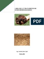 Nutricion Organica y Tratamiento De desechos biodegradables