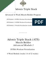 Adonis Triple Stack (ATS)