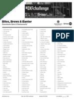 Detroit Experience Factory Checklist