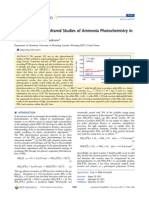 Fourier Transform Infrared Studies of Ammonia Photochemistry In