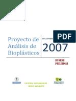 Informe Preliminar Ecoembes 2007
