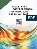 Libro de Estadisticas e Indicadores de Ciencia y Tecnología 2012